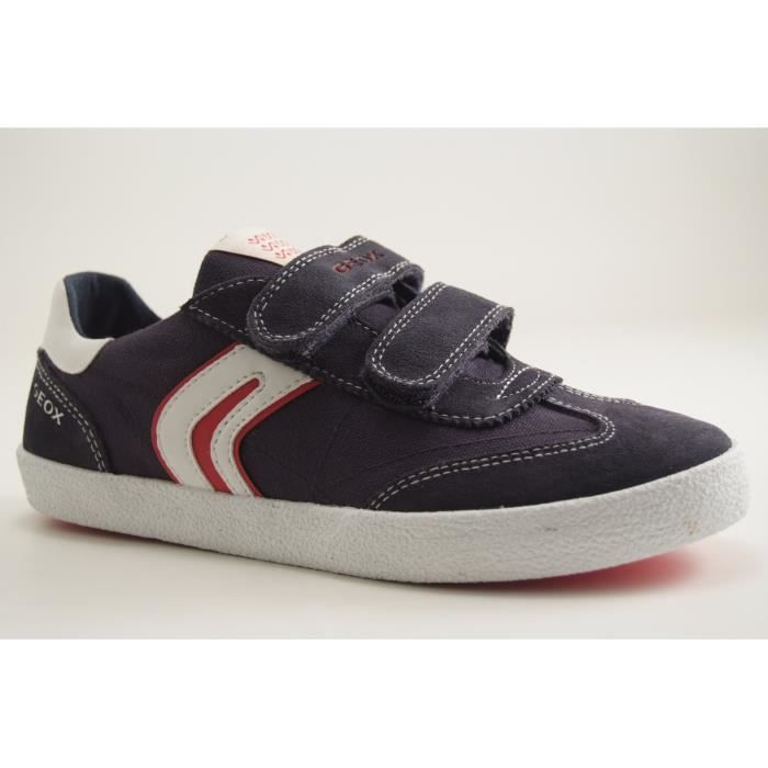 GEOX Enfants-J KIWI B M-TRAINING LACET-NAVY