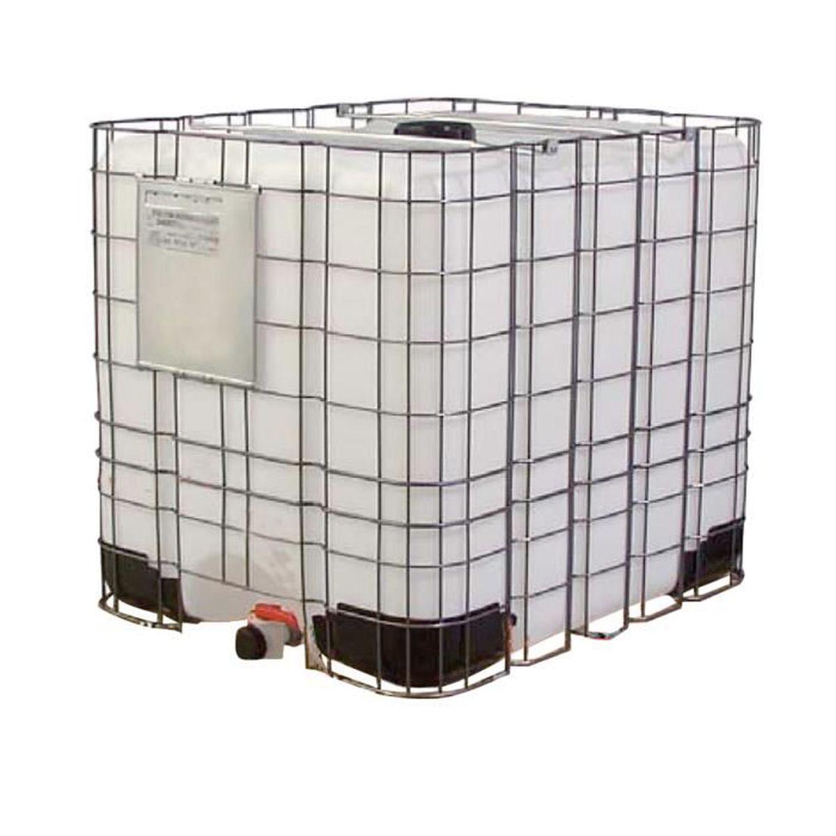 Cuve Cubi 1000 Litres Grillagé Avec Palette Plastique