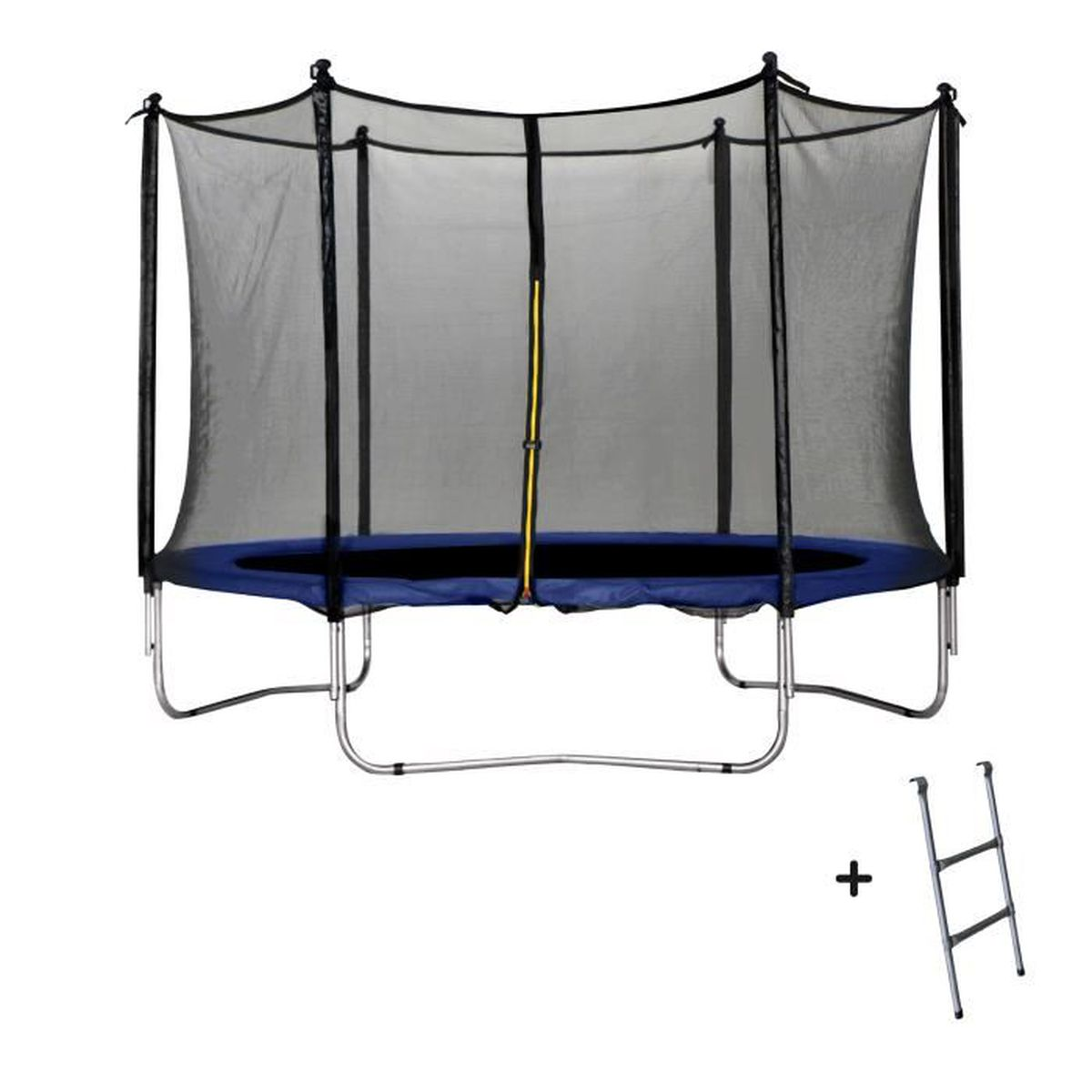 trampoline bleu 305 cm achat vente trampoline cdiscount. Black Bedroom Furniture Sets. Home Design Ideas