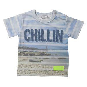 T-SHIRT DIRKJE T-shirt Photoprint Chillin Bébé Garçon