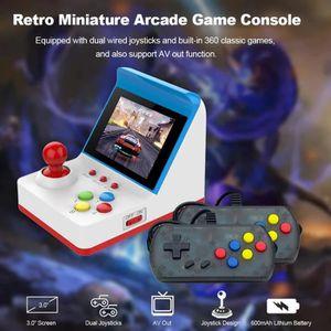 CONSOLE RÉTRO Mini Arcade Jeu Machines Rétro pour Enfants avec 3