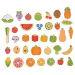 AIMANTS - MAGNETS BigJigs Jouets - Imagination - Fruits et l�gumes -