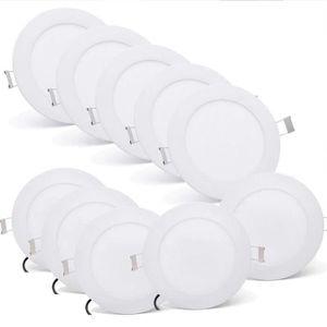 SPOTS - LIGNE DE SPOTS 10X3W Ultra mince LED Spot Encastrable Plafonnier