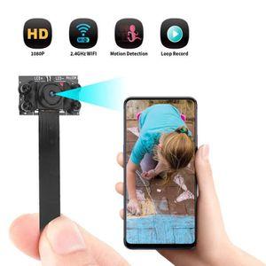 APPAREIL PHOTO RÉFLEX Caméra Caméscope Mini Home WiFi 1080P HD IP sans f