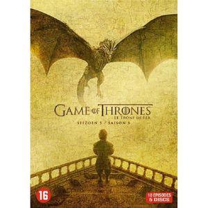 DVD SÉRIE Game Of Thrones - Integrale Saison 5 (DVD)