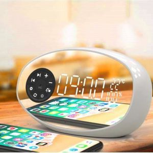 Radio réveil Radio-réveil Avec Haut-parleur Bluetooth, Double R