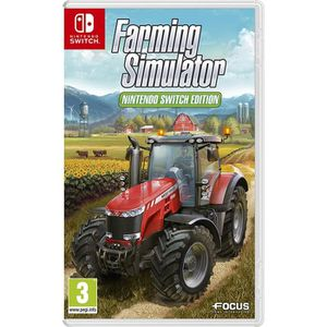 JEU NINTENDO SWITCH Farming Simulator 17 Jeu Switch + 1 figurine + 1 p