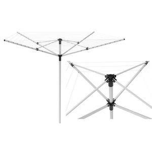 FIL À LINGE - ÉTENDOIR Etendoir à linge parapluie 60 m en aluminium