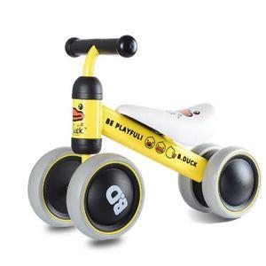 DRAISIENNE jauneBébé Balance vélo petit canard Balance voitur