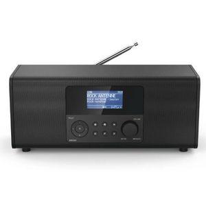 RADIO CD CASSETTE Hama DIR3020, Internet, Analogique et numérique, D