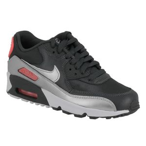 BASKET MULTISPORT Basket Nike air max 90 junior en cuir et textile g