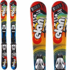 SKI Ski occasion Enfant ELAN Pinball Team + Fixations
