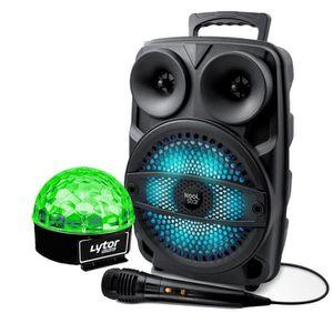 ENCEINTE ET RETOUR Enceinte Enfant SONO DJ SPACER08 karaoke KOOLSTAR