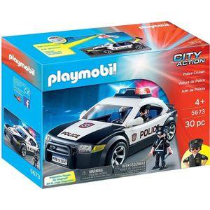 UNIVERS MINIATURE Playmobil City Action 5673 Voiture de Police US ve