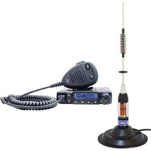 RADIO CB PNI Radio CB Escorte HP 6500 ASQ avec antenne CB M