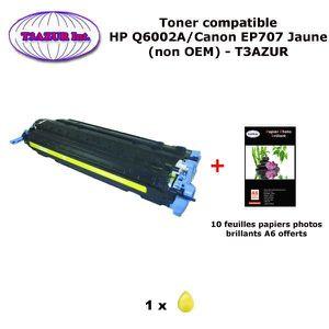 TONER Toner générique Canon EP707 Jaune pour imprimante