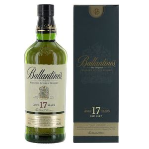 WHISKY BOURBON SCOTCH Whisky Ballantine's 17 ans - 70cl - 40°