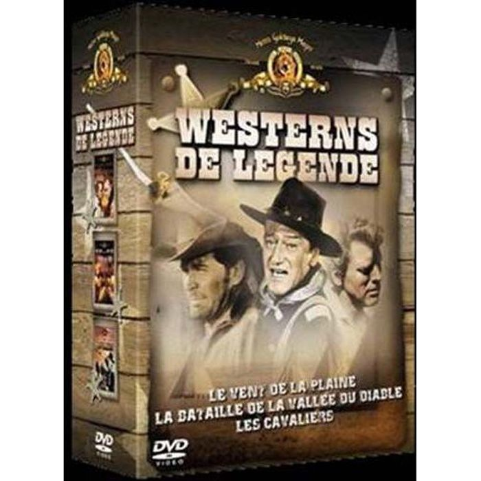 DVD FILM DVD Coffret westerns de légende, vol. 1