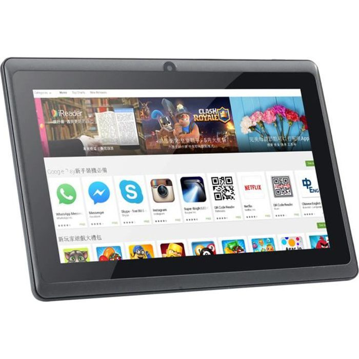 Tablette 7 pouces Q88 Android 4.4 Quad-Core 8GB PC Dual Camera WiFi Bluetooth_irhaang