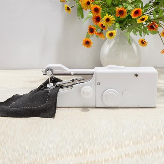 Multifonctionnelle Mini Machine à Coudre Électrique Compacte Machine à Coudre Portable à Main pour Maison