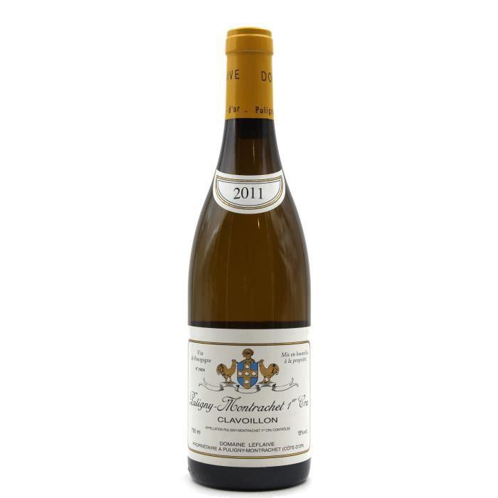 Puligny Montrachet 2011 - Clavoillon - Domaine Leflaive - 1er cru Blanc - AOC - 75cl