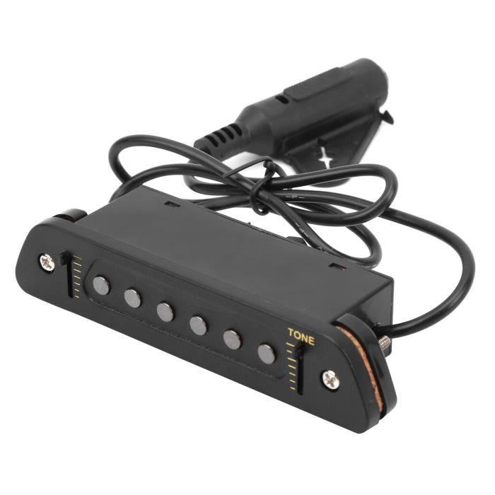 Facile à installer Longue durée de vie Pas facile à endommager Micro de guitare, micro actif, large application pour les amateurs