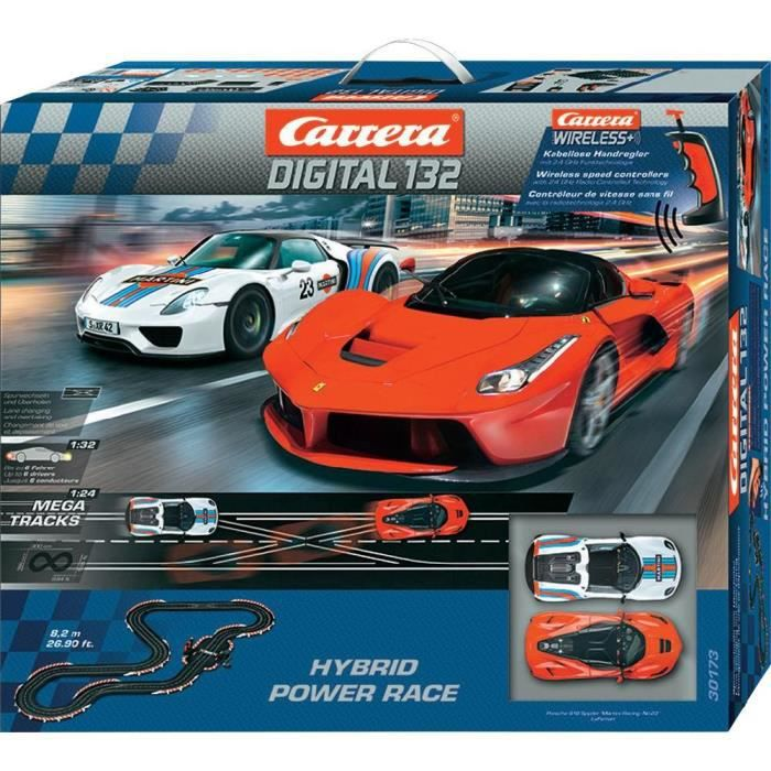 Carrera 20030173 DIGITAL 132 Hybrid Power Race kit de démarrage