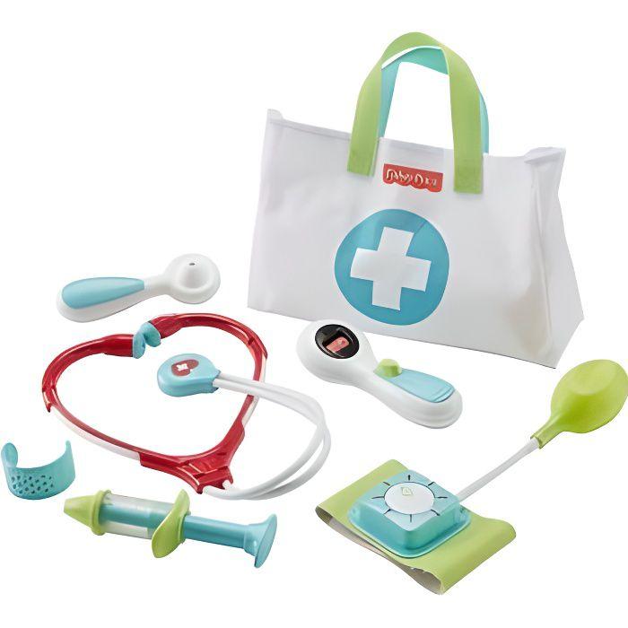 Malette de Docteur Medical Kit 7 accessoires - Fisher-Price - Jeu imitation 3-6 ans