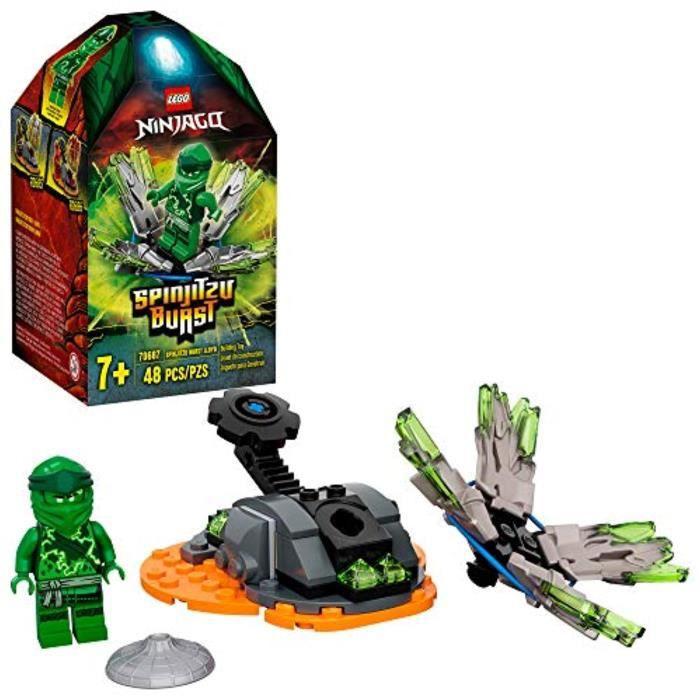 Jeu D'Assemblage LEGO JY9A4 NINJAGO Spinjitzu Burst Lloyd 7687 Kit de construction Ninja avec figurine Ninja, 22 (48 pièces)