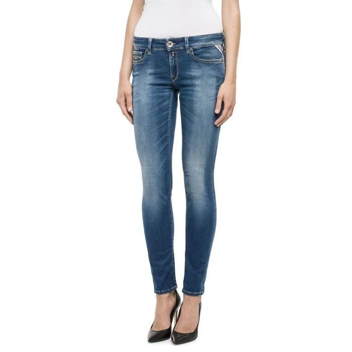 Replay Jeans Bleu Femme WX689.030.661609