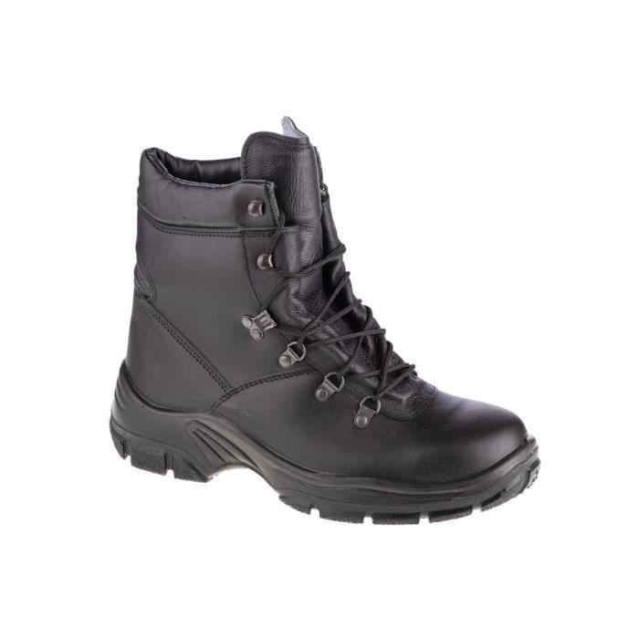 Protektor Commando 113-030, Unisexe, Noir, chaussures randonnée