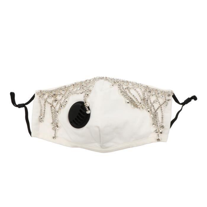 1pc exquise partie couverture du visage décor masque mode de fête MASQUE DE VOYAGE