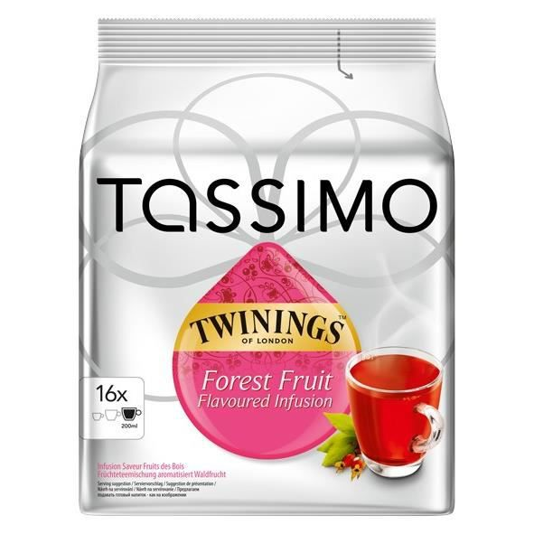 Tassimo Twinings 16 dosettes x 5 pièces