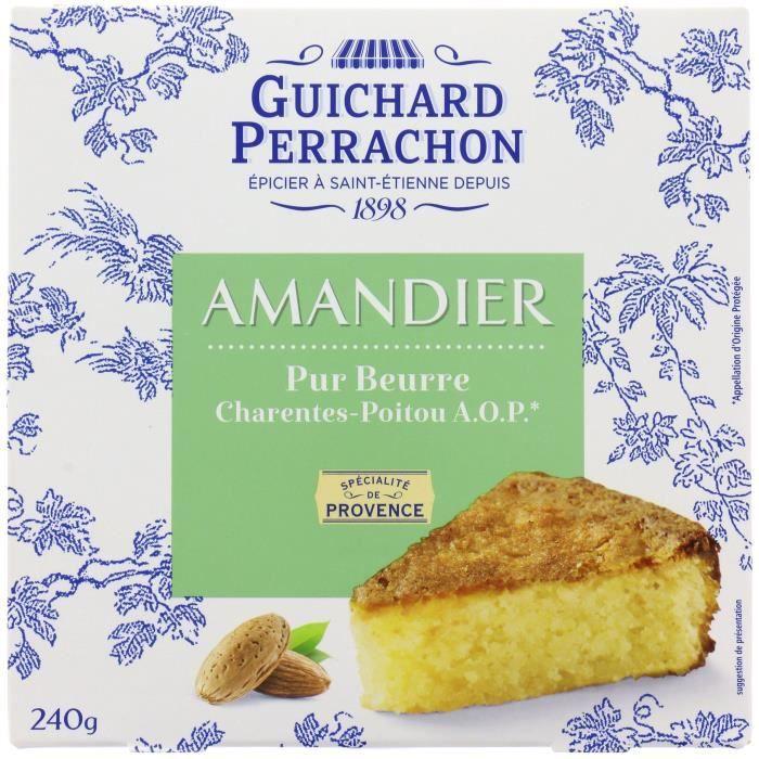 GUICHARD PERRACHON Gâteau aux amandes - 240 g