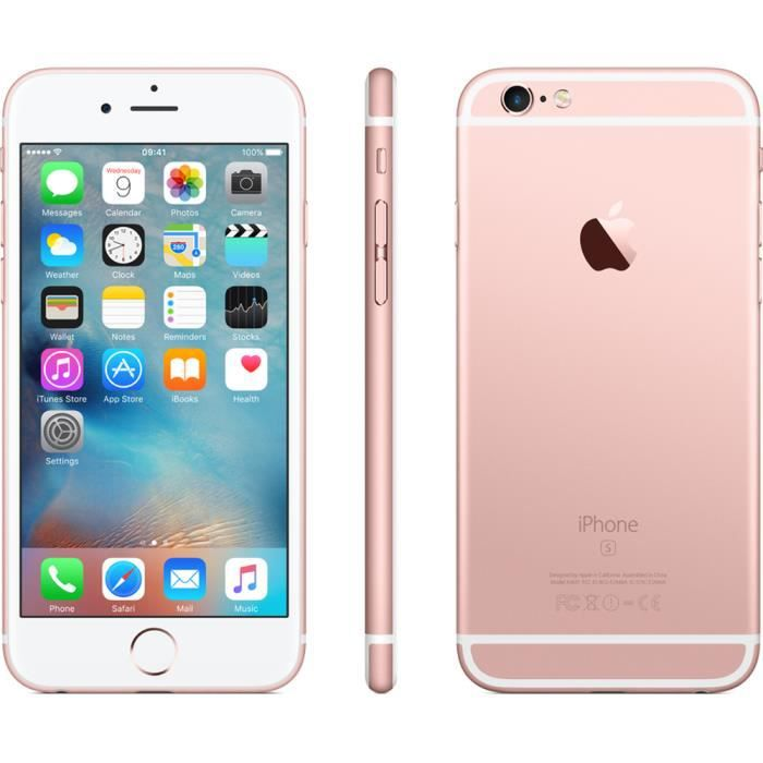 apple iphone 6s 64go rose gold boite d 39 origine achat smartphone pas cher avis et meilleur. Black Bedroom Furniture Sets. Home Design Ideas