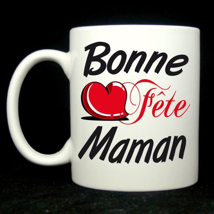mug bonne f te maman achat vente bol mug mazagran cdiscount. Black Bedroom Furniture Sets. Home Design Ideas