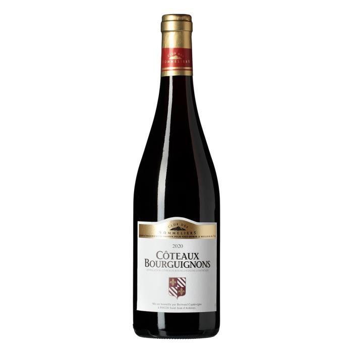 VIN ROUGE Coteaux Bourguignons Vin de Bourgogne - Rouge - 75