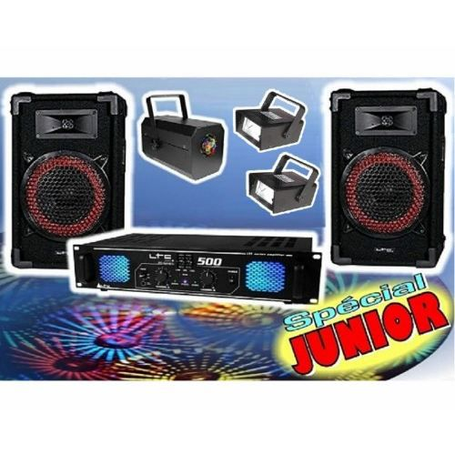 pack sono pc et 3 jeux de lumi re dj junior pc pack sono. Black Bedroom Furniture Sets. Home Design Ideas