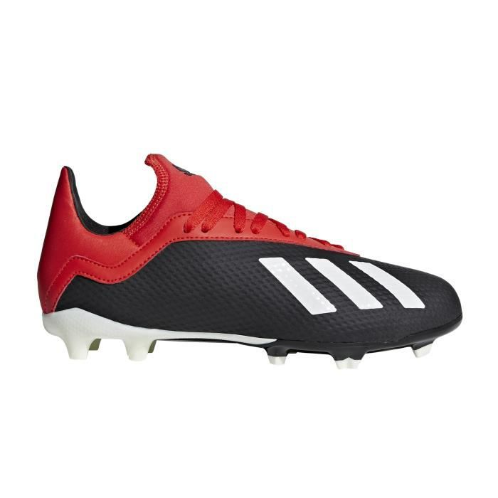 Noir Football 18 X Adidas Fg Junior Chaussures 3 Rouge tdoQhCsrxB