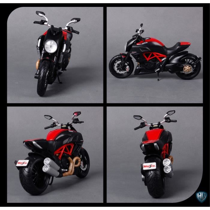 pipihu moto ducati diavel ducati moto ducati simulation de moto achat vente voiture enfant. Black Bedroom Furniture Sets. Home Design Ideas