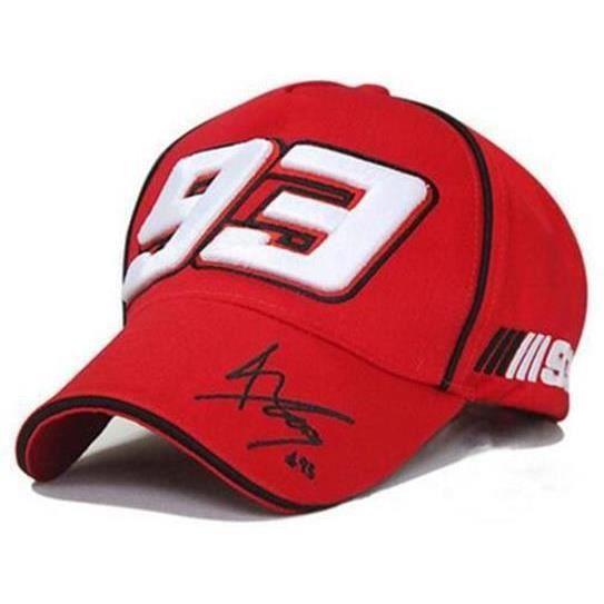 CASQUETTE DE CYCLISME MOTO GP 93 Marc Marquez F1 Racing-Hat Embroidery M