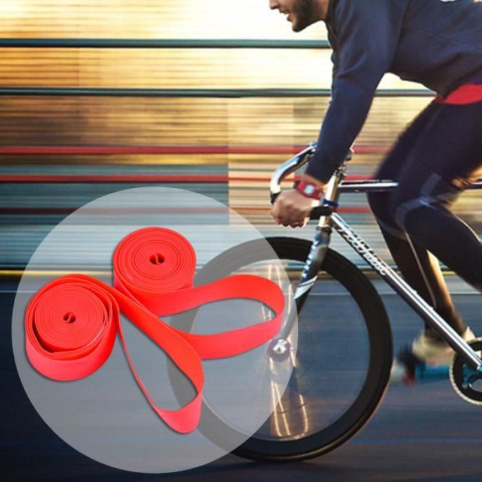 2PCS Bicyclette Pneu de Vélo Doublure Anti-crevaison Pneu Protection Bande