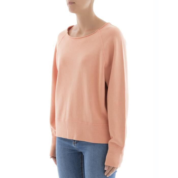 RAG & BONE FEMME W274C07P4SUNSET ORANGE COTON MAILLE