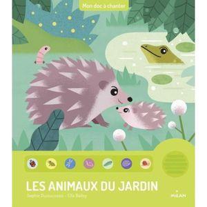 Livre 3-6 ANS Les animaux du jardin