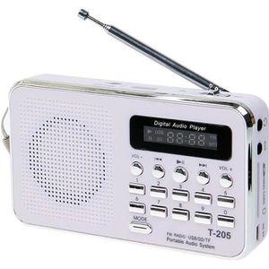 RADIO CD CASSETTE portable stéréo des enceintes HiFi carte haut-parl