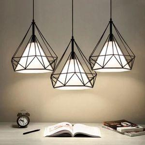 LUSTRE ET SUSPENSION TYNE Lustre en fer LED barre lumineuse d'éclairage