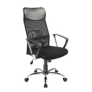 CHAISE DE BUREAU Duhome Chaise de Bureau Noire - 0341 Fauteuil de C