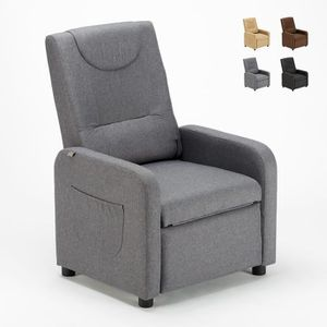 FAUTEUIL Fauteuil Design relax inclinable avec repose-pieds