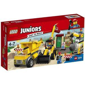 ASSEMBLAGE CONSTRUCTION LEGO® Juniors 10734 Le Chantier de Démolition