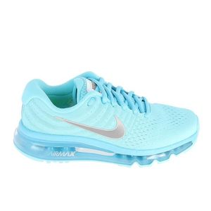 BASKET NIKE Air Max 2017 Jr Bleu Gris 851623-403